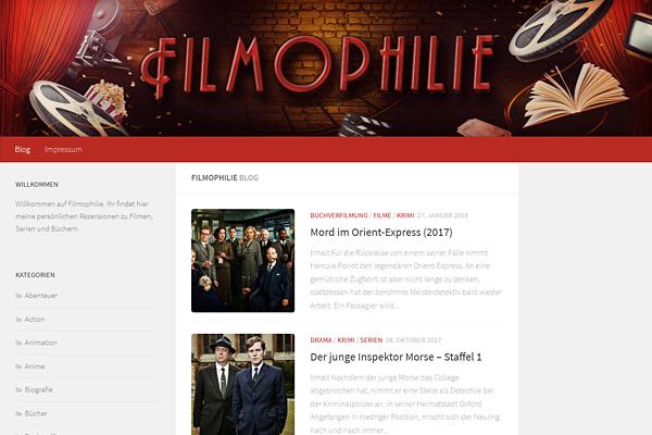 Filmophilie ist zurück!